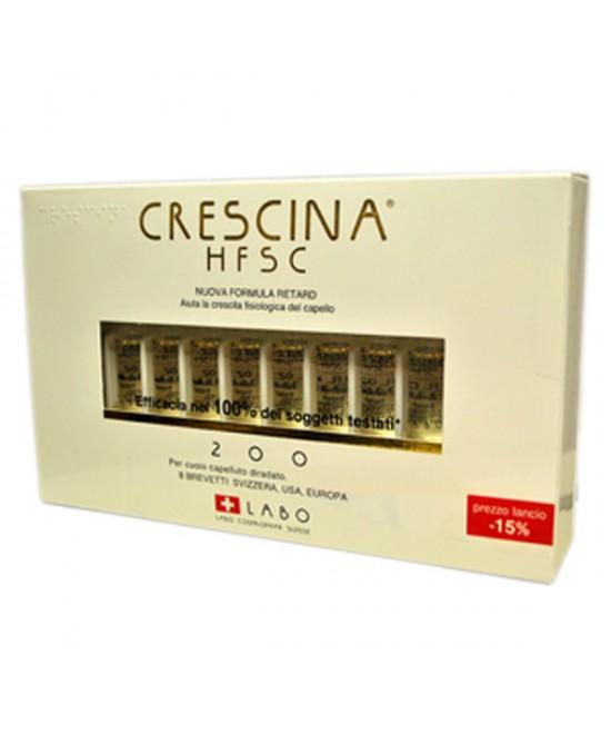 Labo Crescina HFSC Nuova Formula Retard 200 Uomo 40 Fiale