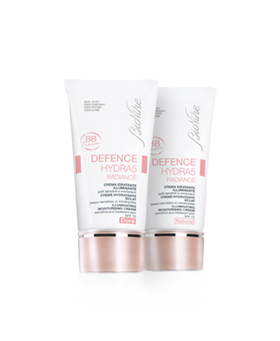 BioNike Defence Hydra5 Radiance BB Cream Idratante Illuminante Spf15 Nuance Natural 40ml - Farmastop