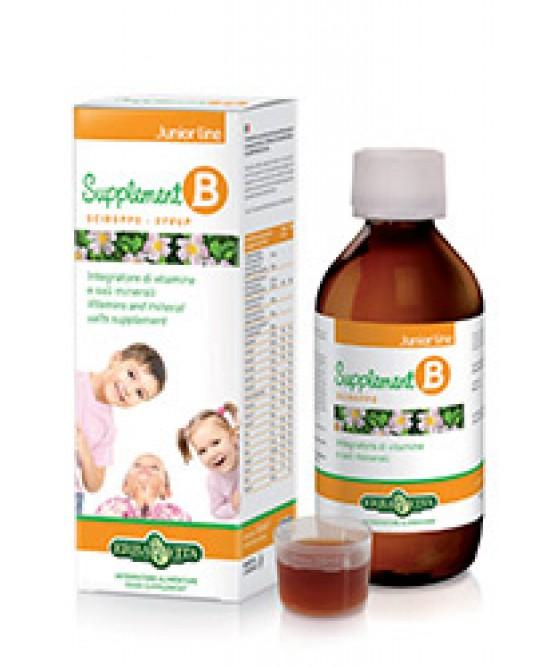 Erba Vita Supplement-B Sciroppo Integratore Vitamine e Sali Minerali 150 ml