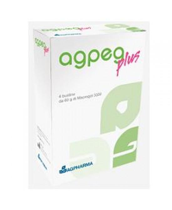 Agpeg Plus Macrogol 3350 4bust - farmaventura.it