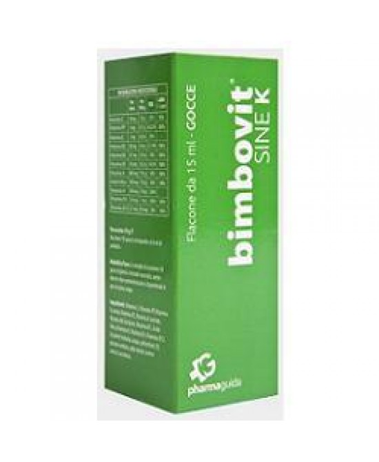 Bimbovit Sine K Gocce 15ml - Farmacia Giotti