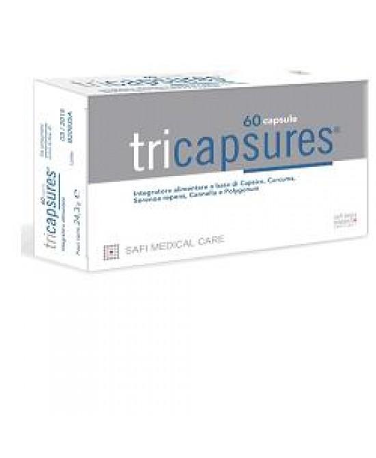 Tricapsures Integratore 60 Capsule