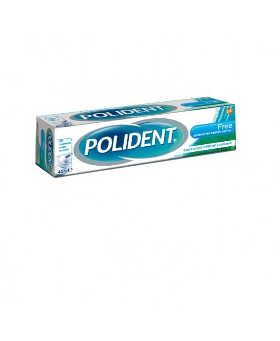 Polident Adesivo Per Dentiere Free Ipoallergico 40g - Farmafamily.it