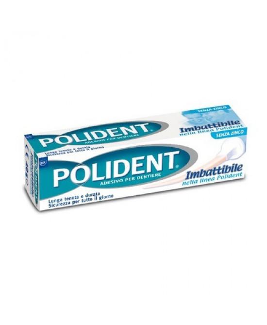 Polident Adesivo Per Dentiere Imbattibile 40g - Farmafamily.it