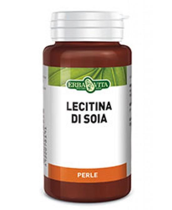 Erba Vita Lecitina Di Soia Integratore Controllo Colesterolo 120 Perle