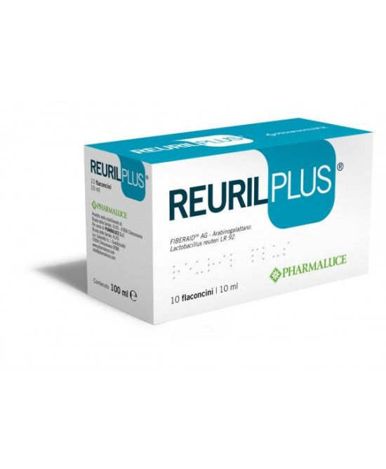 Reuril Plus Integratore Di Fermenti Lattici 10 Flaconcini 10 ml