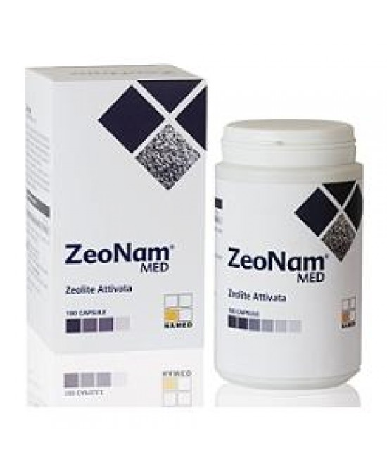 Named ZeoNam Zeolite Attivata Integratore Alimentare 180 Capsule - Farmastar.it