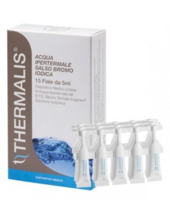 Thermalis Acqua Ipertermale Salso Bromo Iodica 5Fiale x15ml