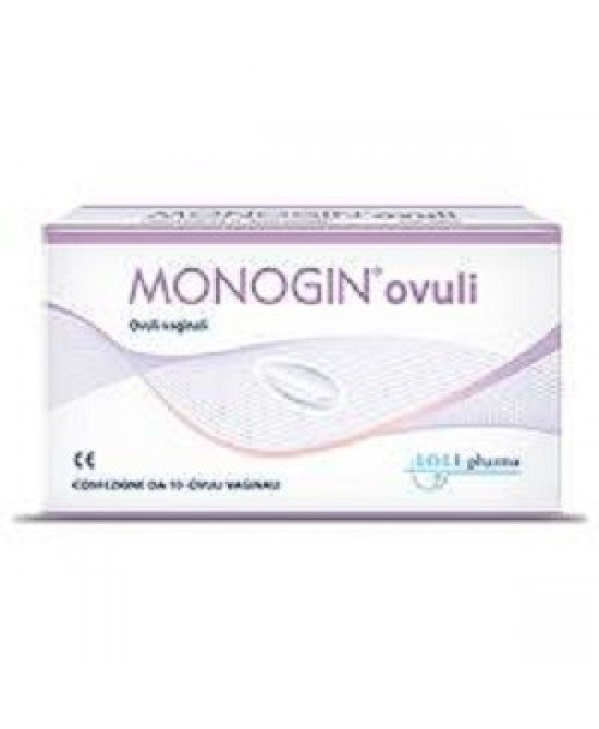Lo.LI.Pharma Monogin Ovuli Vaginali 10 Pezzi - Farmastar.it