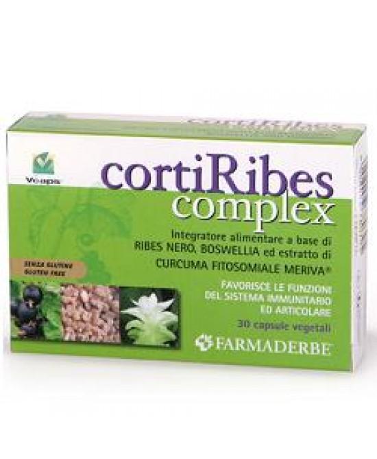 Corti Ribes Complex Integratore Alimentare 30 Capsule - Spacefarma.it