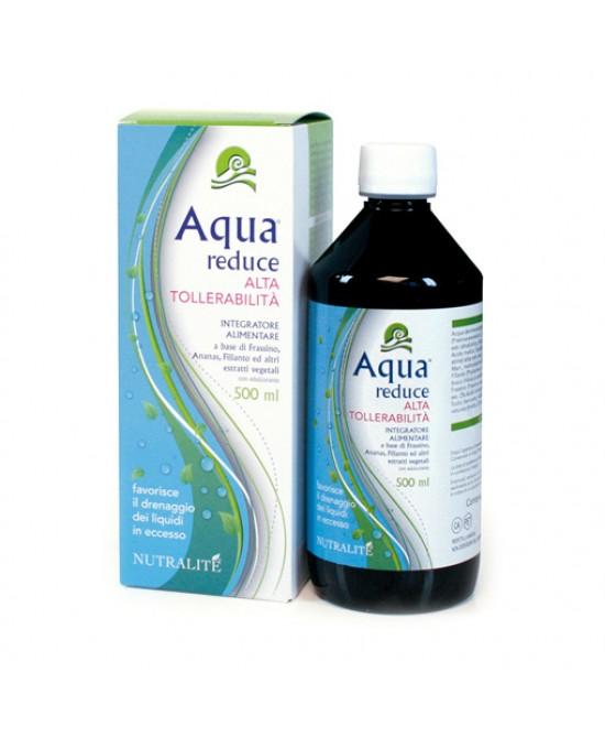 Nutralitè Aqua Reduce Drenante Alta Tollerabilità Integratore Alimentare  500ml
