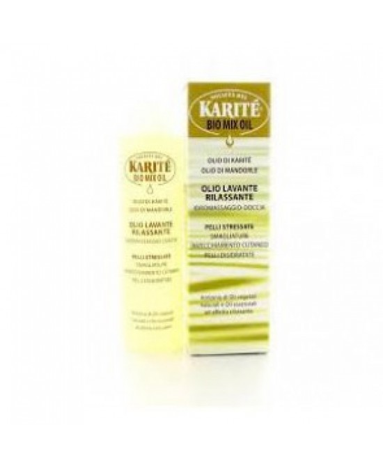 Karitè Bio Mix Oil Olio Lavante Rilassante 60ml - farmaventura.it