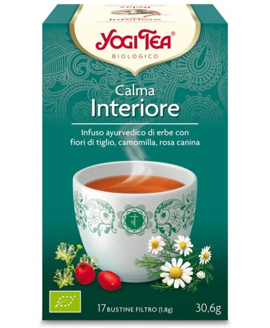 YOGI TEA CALMA INTERIORE 31 G - farmaciadeglispeziali.it