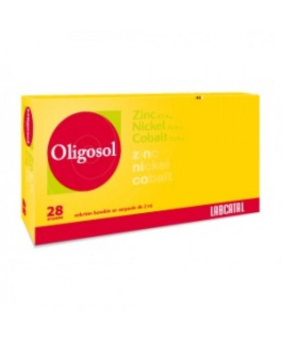 Labcatal Oligoelementi Zinco/Nichel/Cobalto Integratore Alimentare 28 Fiale 2ML - Farmastar.it