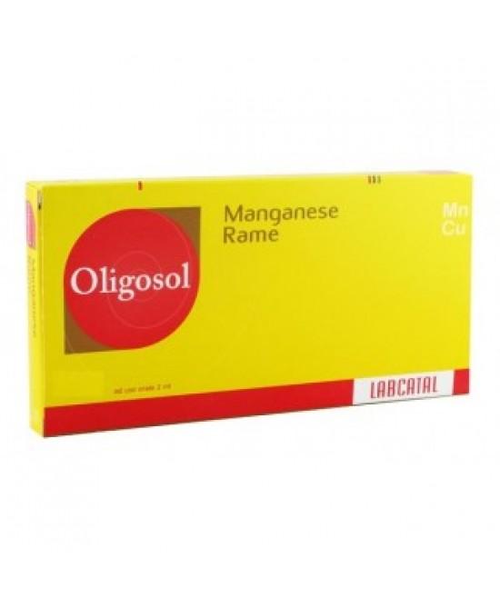 Labcatal Oligoelementi Manganesio/Rame 28 Fiale Da 2ML - Farmastar.it