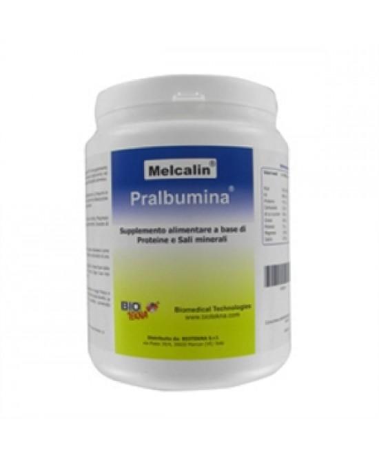 Melcalin Pralbumina Gusto Cacao Integratore Alimentare 532g - Farmaciasconti.it