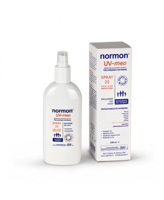 Normon UV-med Spray Viso Corpo SPF25  250ml