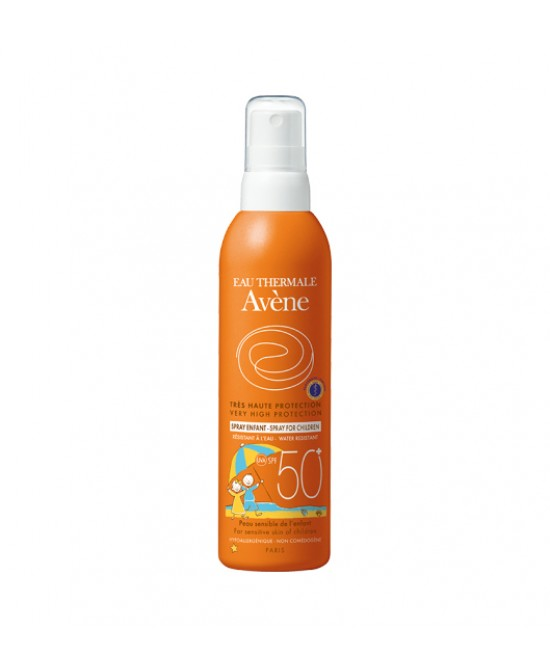 Avène Spray Bambino Spf50+ Spray Solare 200ml - Farmia.it