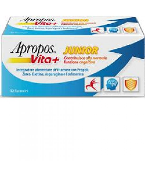 Apropos Vita+ Junior 12fl 10ml - Farmalandia