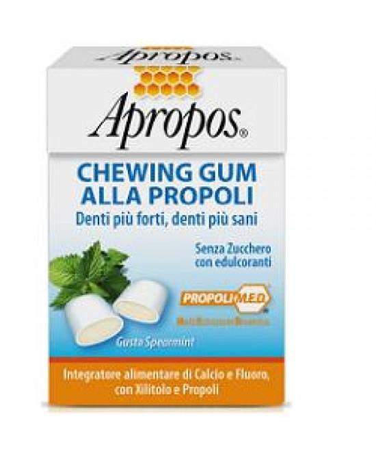 Apropos Chewingum Propoli 25g - Farmafamily.it