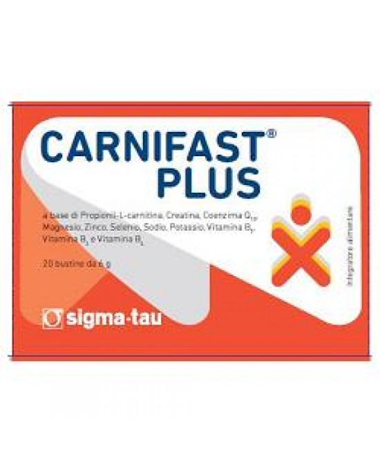 Carnifast Plus 20 Bustine - Farmaciaempatica.it