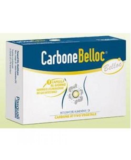 CARBONE BELLOC 40 CAPSULE 500 MG - Carafarmacia.it
