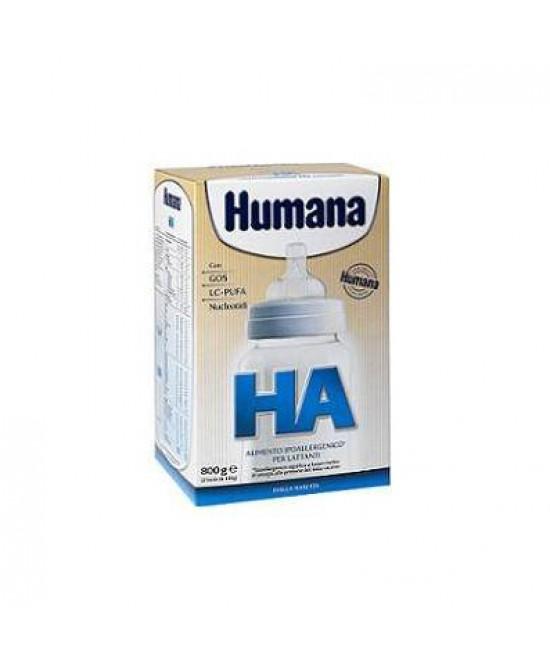 Humana Ha Alimento Ipoallergenico Per Lattanti Latte In Polvere 800g - Antica Farmacia Del Lago