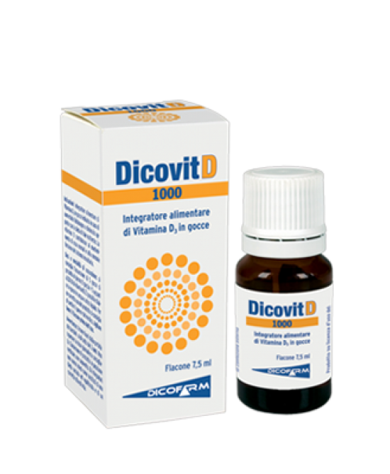 DICOVIT D 1000 7,5 ML - Farmawing