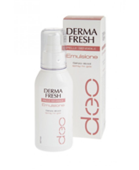 Dermafresh Deodorante Pelle Sensibile Emulsione 75ml - farmaventura.it