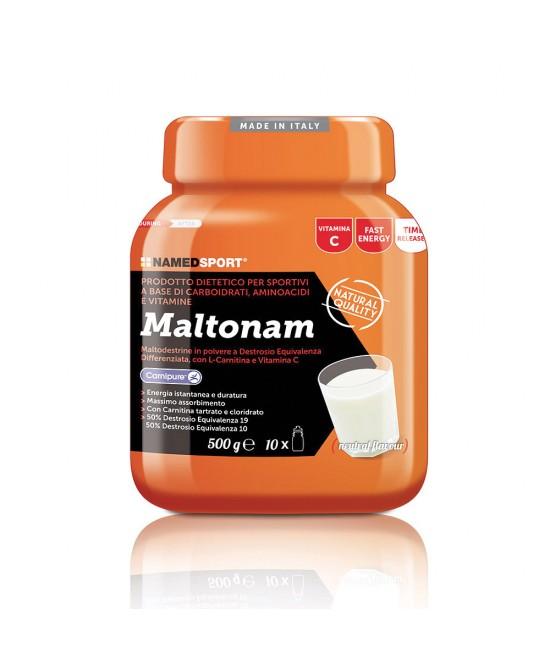 NamedSport Maltonam Integratore Alimentare Polvere 500g - La farmacia digitale