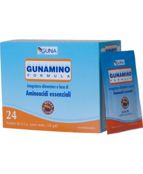 Guna Gunamino Formula Integratore Alimentare 24 Bustine - Farmastar.it