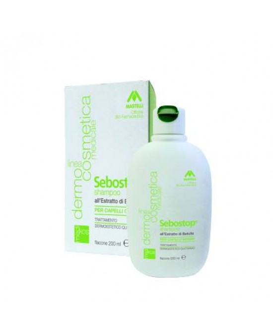 SEBOSTOP SHAMPOO CAPELLI GRASSI 200 ML - Farmalke.it