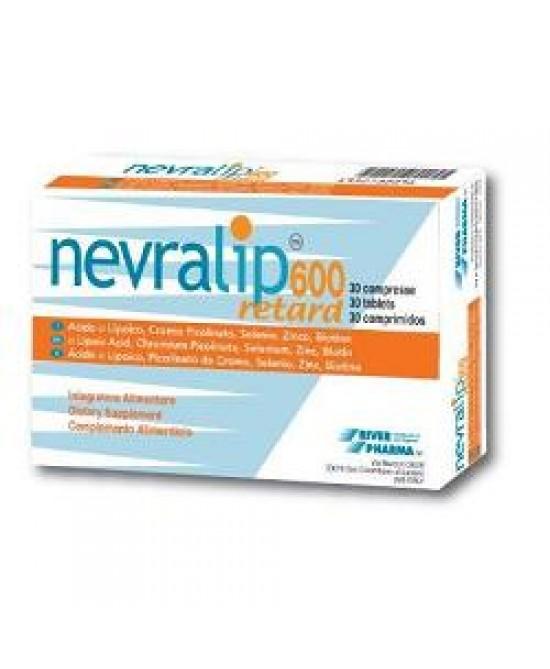 Nevralip 600 Retard 30cpr - Farmaci.me
