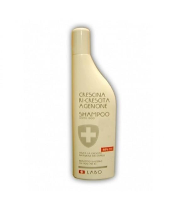 Labo Crescina Ri-Crescita Agenone Shampoo Dosaggio 1300 Formato Uomo Flacone 150ml