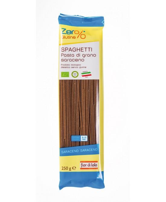 Zero% Glutine Spaghetti Di Grano Saraceno Biologico 250g - La farmacia digitale