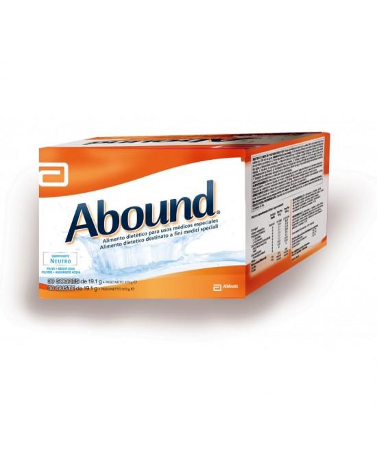 Abbott Abound Neutro Integratore Alimentare 30 Bustine Da 19g - Sempredisponibile.it