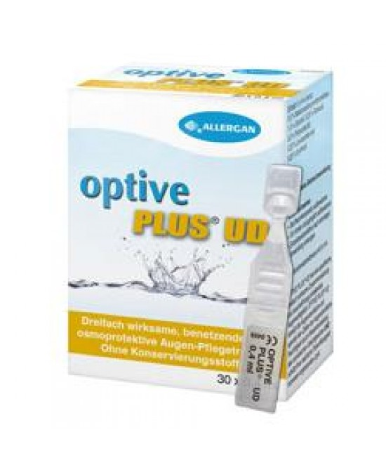 Allergan Optive Plus Ud Gocce Oculari 30 Flaconcini Mondose Da 0,4ml - Farmafamily.it