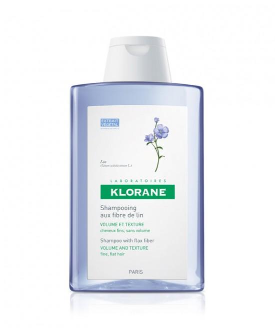Klorane Shampoo Alle Fibre Di Lino 200ml - Farmaci.me