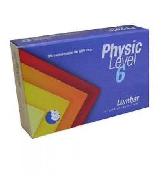 Physic Level 6 Lumbar Integratore 30 Compresse