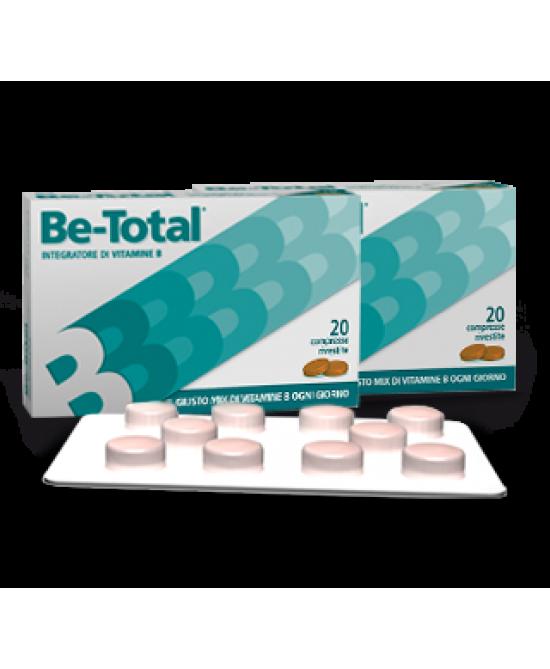 Be-Total Integratore Di Vitamine 40 Compresse  - Farmaciacarpediem.it