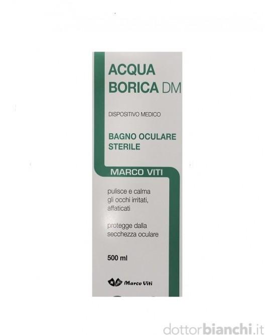 Marco Viti Acqua Borica DM Bagno Oculare Sterile 500ml - Farmastar.it