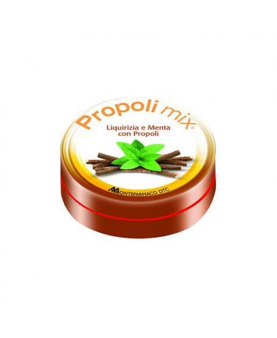Montefarmaco OTC Propoli Mix Caramelle Liquirizia-Menta Integratore Alimentare 30 Caramelle - Farmastar.it