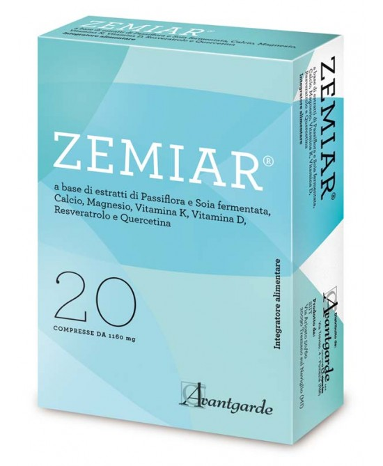 Avantgarde Zemiar Integratore Alimentare 20 Compresse - Farmastar.it