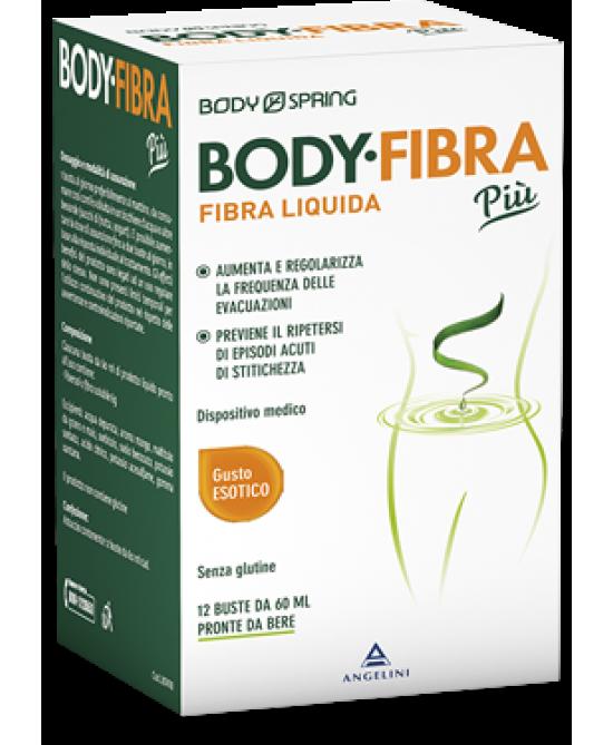 Body Spring Body Fibra Più Gusto Esotico 12 Buste Da 60ml - Farmacia 33