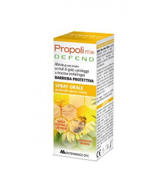 Montefarmaco OTC Propoli Mix Defend Spray Orale Integratore Alimentare 30ml - Farmaconvenienza.it