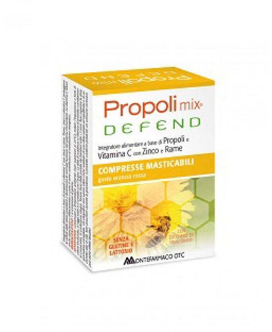 Montefarmaco OTC Propoli Mix Defend Integratore Alimentare 30 Compresse Masticabili - La farmacia digitale