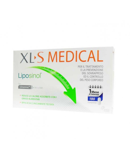 Xl-S Medical Liposinol 1 Mese Di Trattamento Integratore Alimentare 180 Compresse - Farmia.it