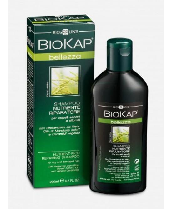 Bios Line BioKap Shampoo Nutriente Riparatore 200ml - Iltuobenessereonline.it
