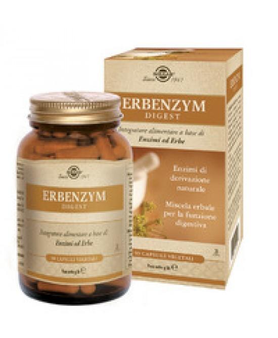 ERBENZYM DIGEST 90 CAPSULE VEGETALI FLACONE 56 G - Farmacia33