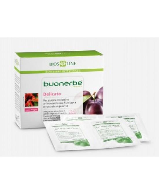 Bios Line Buonerbe Regola Delicato New Integratore Alimentare 20 Bustine Monodose - Farmastar.it